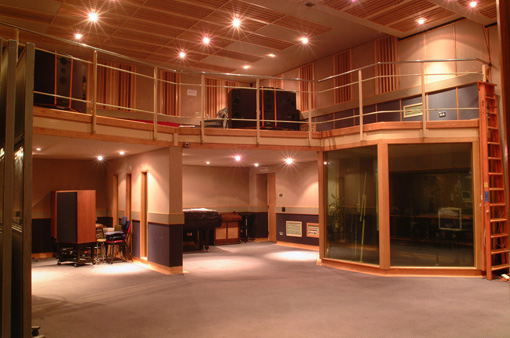 BBC Maida Vale Studio 4. Home of Peel Sessions. Main live room 2011