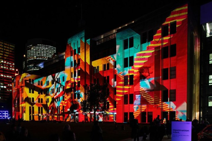Vivid Sydney. Museum of Contemporary Art Australia